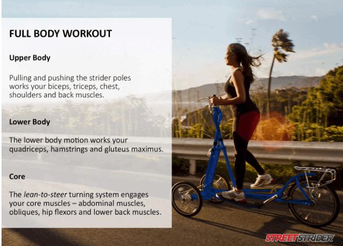 StreetStrider 7i Outdoor + Indoor Elliptical Cross Trainer Review