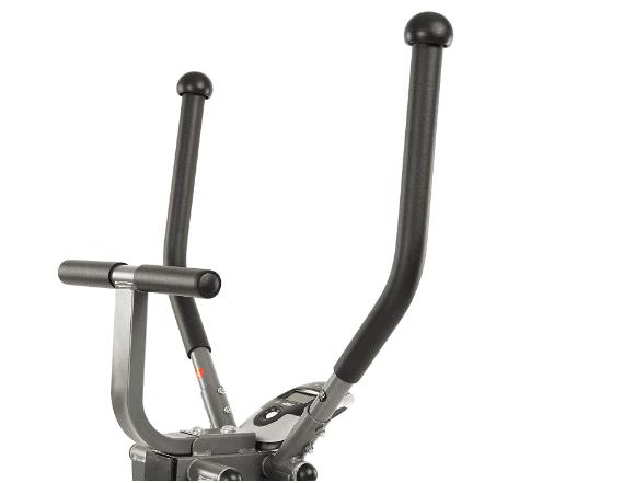 EFITMENT Air Walker Glider Elliptical Machine E020's fixed and mobile handlebars
