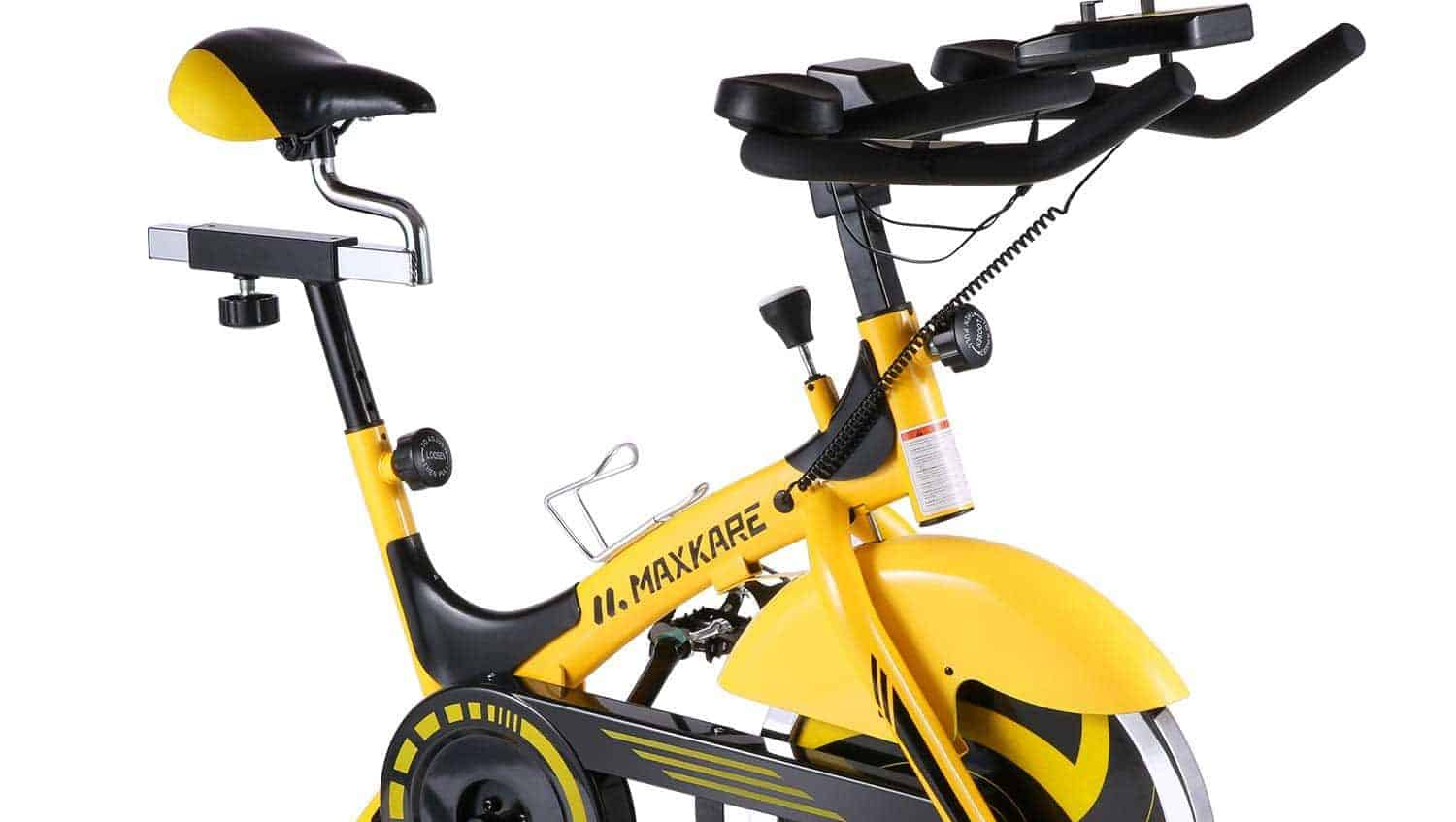 MaxKare Stationary Cycling Spin Bike Review