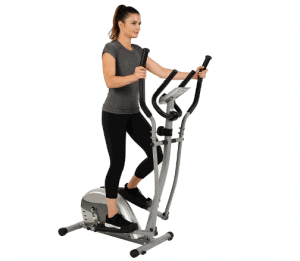 EFITMENT Compact Magnetic Elliptical Trainer Model E005 used for workouts