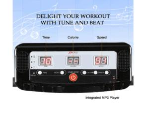 Pinty 2000W Whole Body Vibration Platform Exercise Machine's console