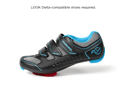 LOOK Delta Shoes for Flywheel Home Exercise Bike