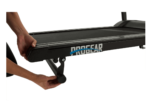 The incline system of the ProGear HCXL 4000 Walking and Jogging Treadmill