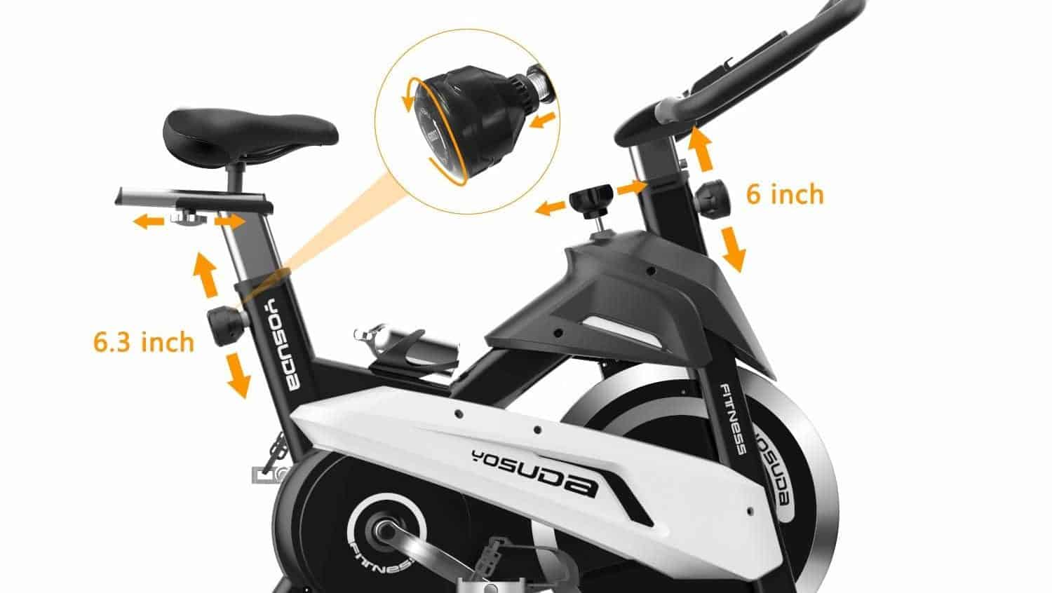 YOSUDA Indoor Exercise Cycling Bike L-007 Review