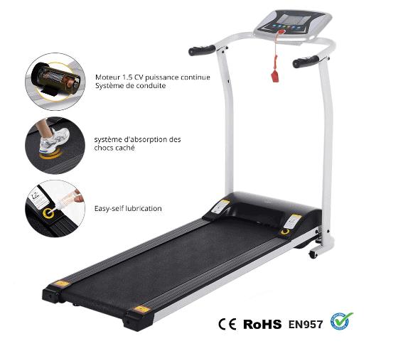 Miageek Fitness Folding Electric Treadmill