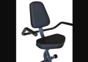 The seat of the Exerpeutic Magnetic Recumbent ME-709 Bike
