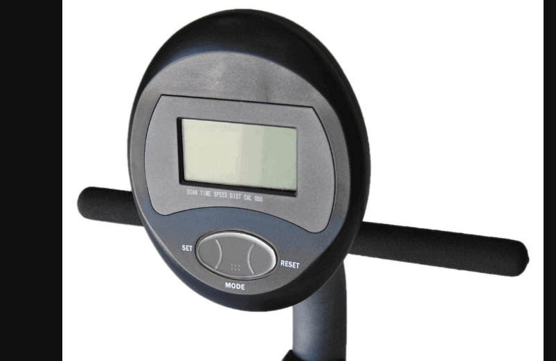 The Console of the Exerpeutic Magnetic Recumbent ME-709 Bike