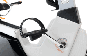 The pedal and the drive of the 3G Cardio Elite RB Recumbent Bike
