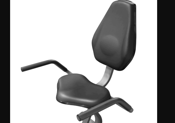 The Recumbent Seat of the Marcy Magnetic Resistance Recumbent Bike (NS-716R)