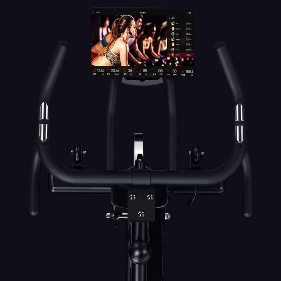 Handlebar of the ECHANFIT Magnetic Indoor Exercise Cycling Bike (CBK 1901)