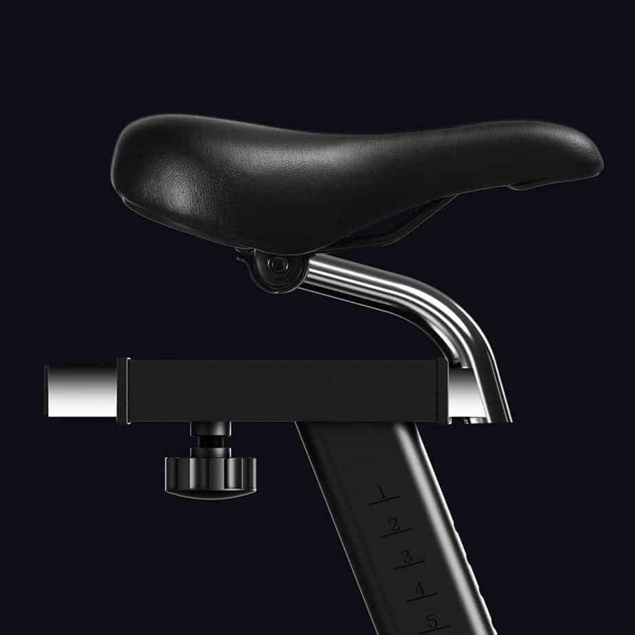 The seat of the ECHANFIT Magnetic Indoor Exercise Cycling Bike (CBK 1901)
