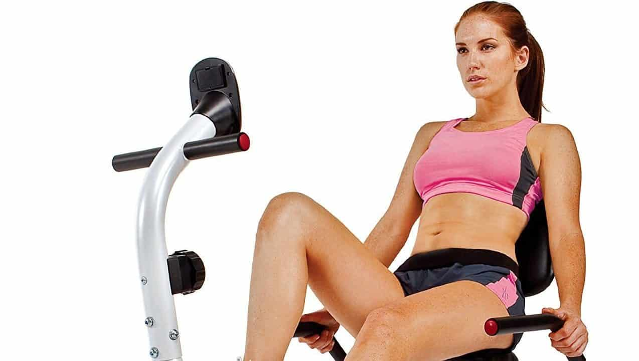Marcy Recumbent Exercise Bike with Pulse Sensors NS-908R Review
