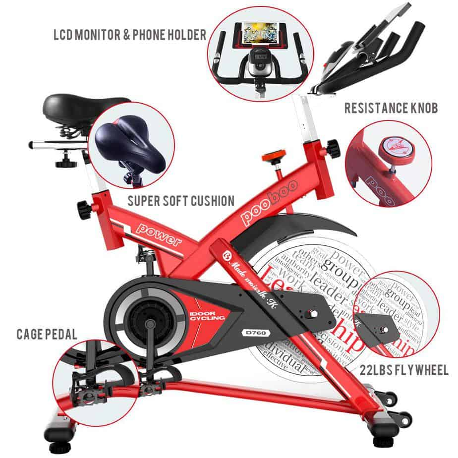 Pooboo L NOW Indoor Cycling Bike D760