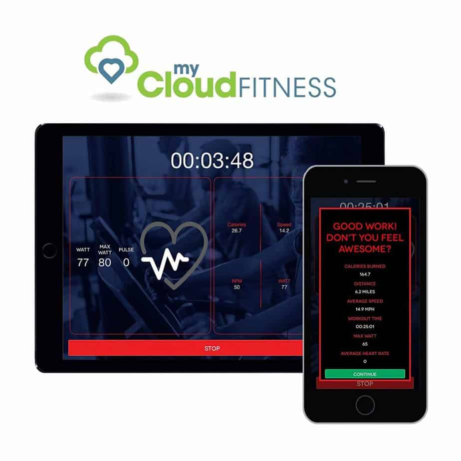 Fitness Reality 1000AR Bluetooth Air Resistance Bike is Smartphone compatible
