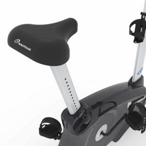 Nautilus U614 Upright Bike seat