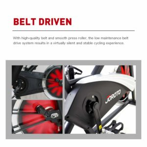 The drive of the Joroto X2 Indoor Cycling Bike