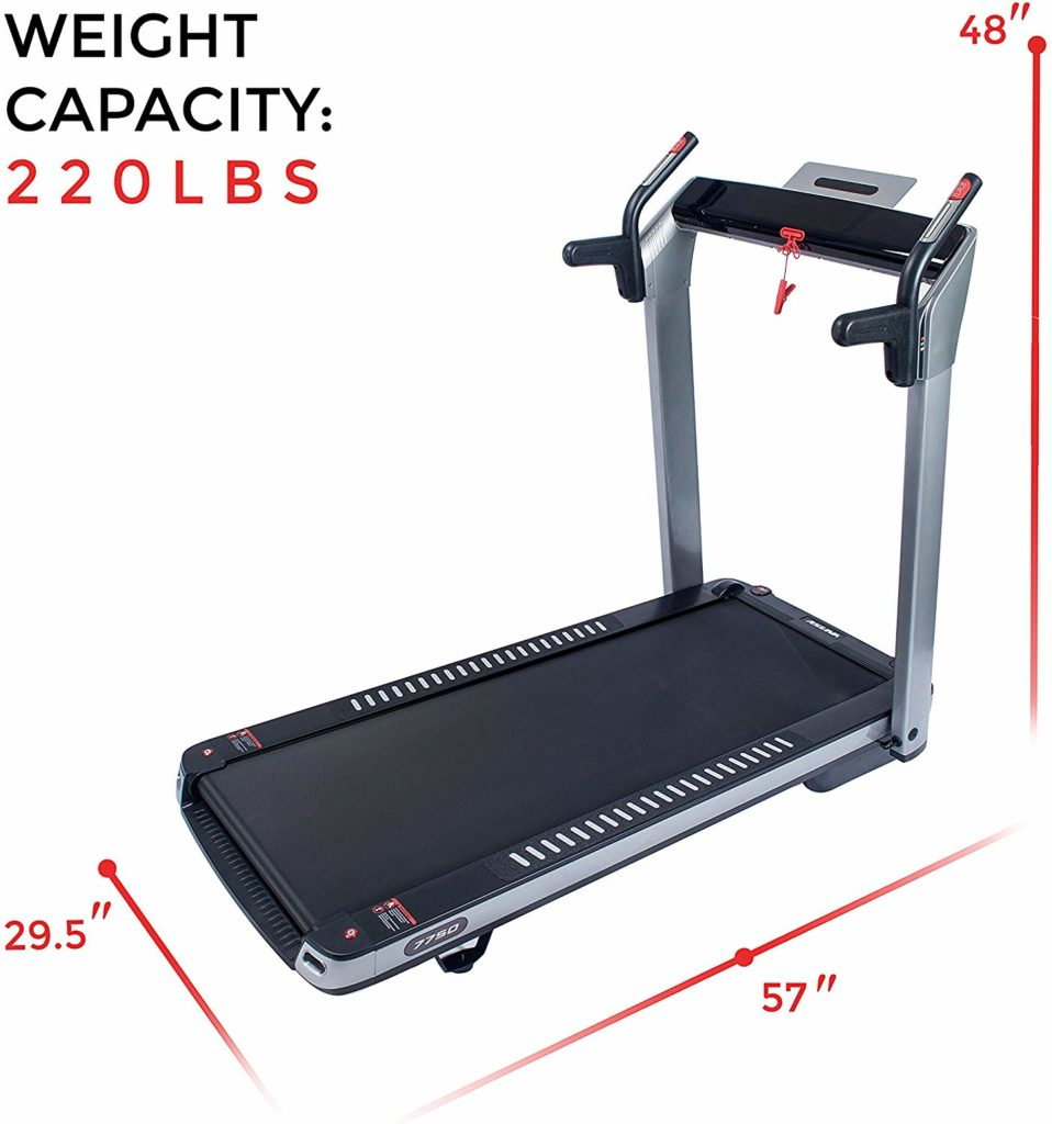 Sunny Health & Fitness ASUNA 7750 Folding Treadmill