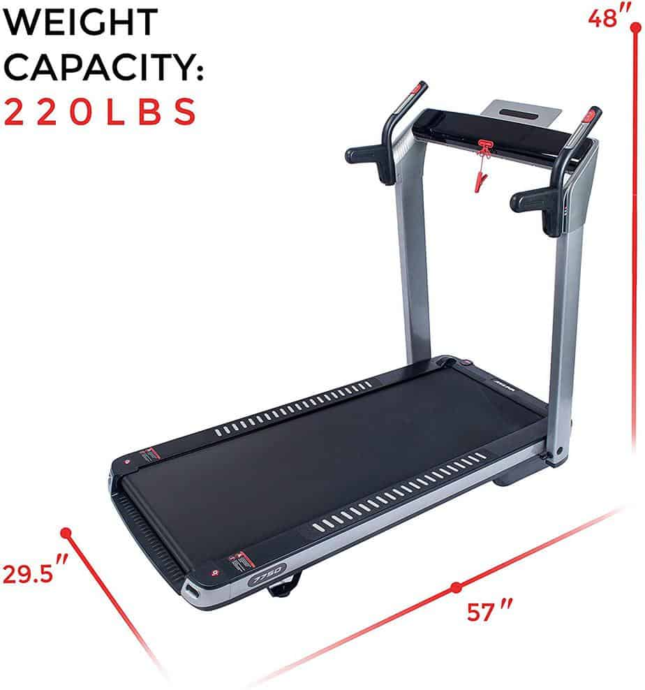 Sunny Health & Fitness ASUNA 7750 Folding Treadmill