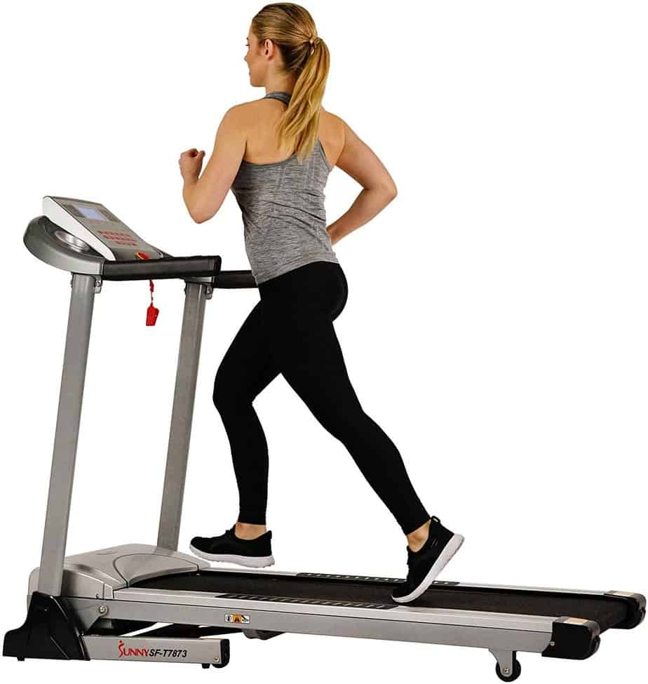 Sunny Health & Fitness Electric Folding Treadmill SF-T7873 Review