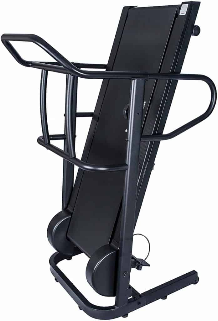 Folded Sunny Health & Fitness SF-T7723 Treadmill