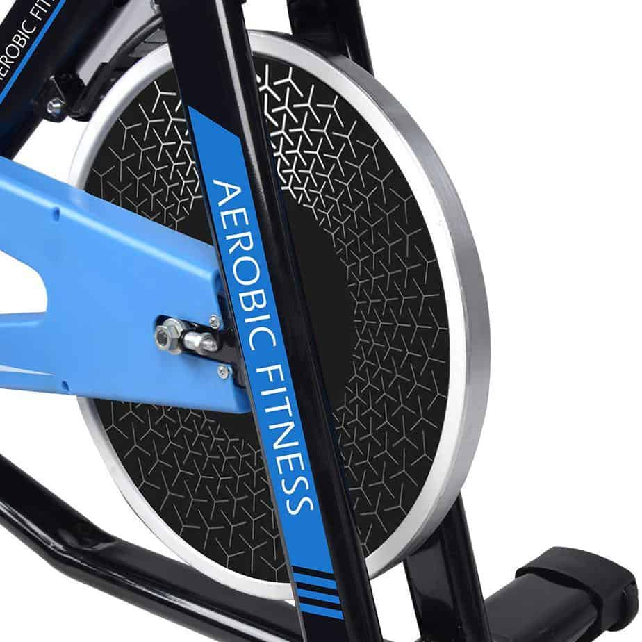 The drive of the Cycool Belt Drive Stationary Bike (C1)
