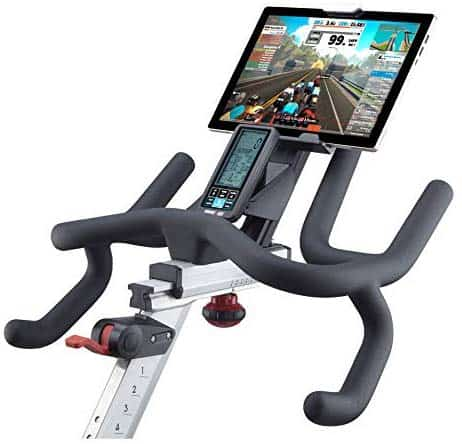 The handlebar of the DiamondBack Fitness 1260Sc Studio Cycle