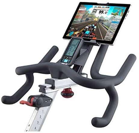 The handlebar of the DiamondBack Fitness 1260Sc Studio Cycle