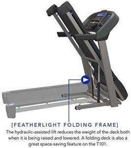 Folded Horizon T101 Treadmill (2018)