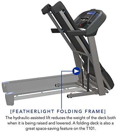 Folded Horizon T101 Treadmill (2018)