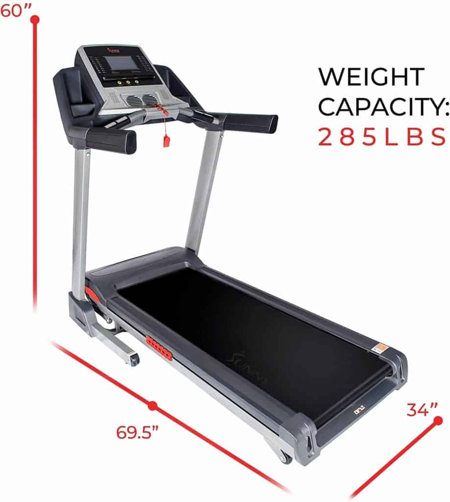 Sunny Health & Fitness SF-T7820 Treadmill