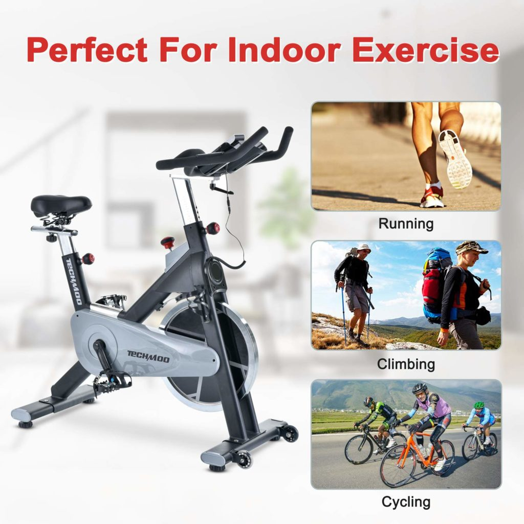 TECHMOO Indoor Cycling Bike