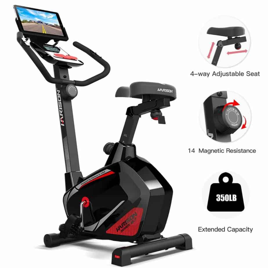 HARISON Magnetic B7 Upright Bike