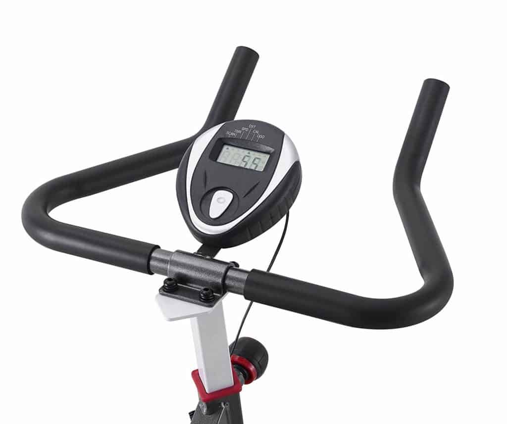 The monitor and the handlebar of the VIGBODY HL-5801 Indoor Exercise Bike
