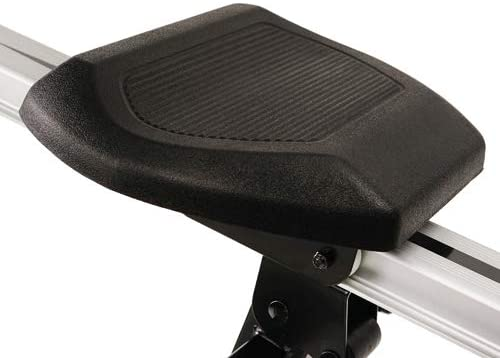 The seat of the Sunny Health and Fitness SF-RW5720 Incline Slide Rower