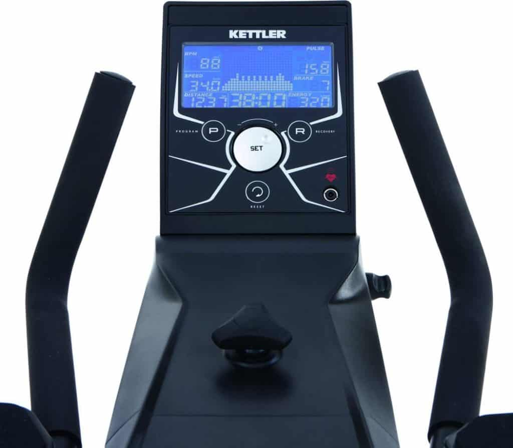 The Console of the KETTLER Racer 7 Indoor Cycling Bike