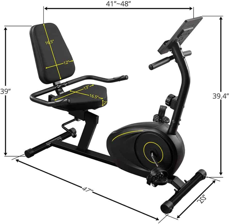 DuraB Recumbent Exercise Bike