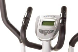 The console of the Exerpeutic 1000xl Magnetic Elliptical