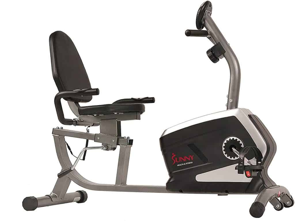 Sunny Health and Fitness SF-RB4616 Magnetic Recumbent Bike