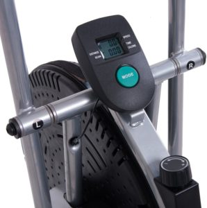 The console of the Body Rider BRF700 Fan Upright Exercise Bike
