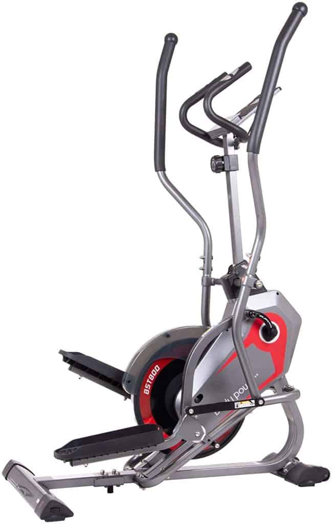 Body Power 2-in-1 BST800 Elliptical Stepper Trainer