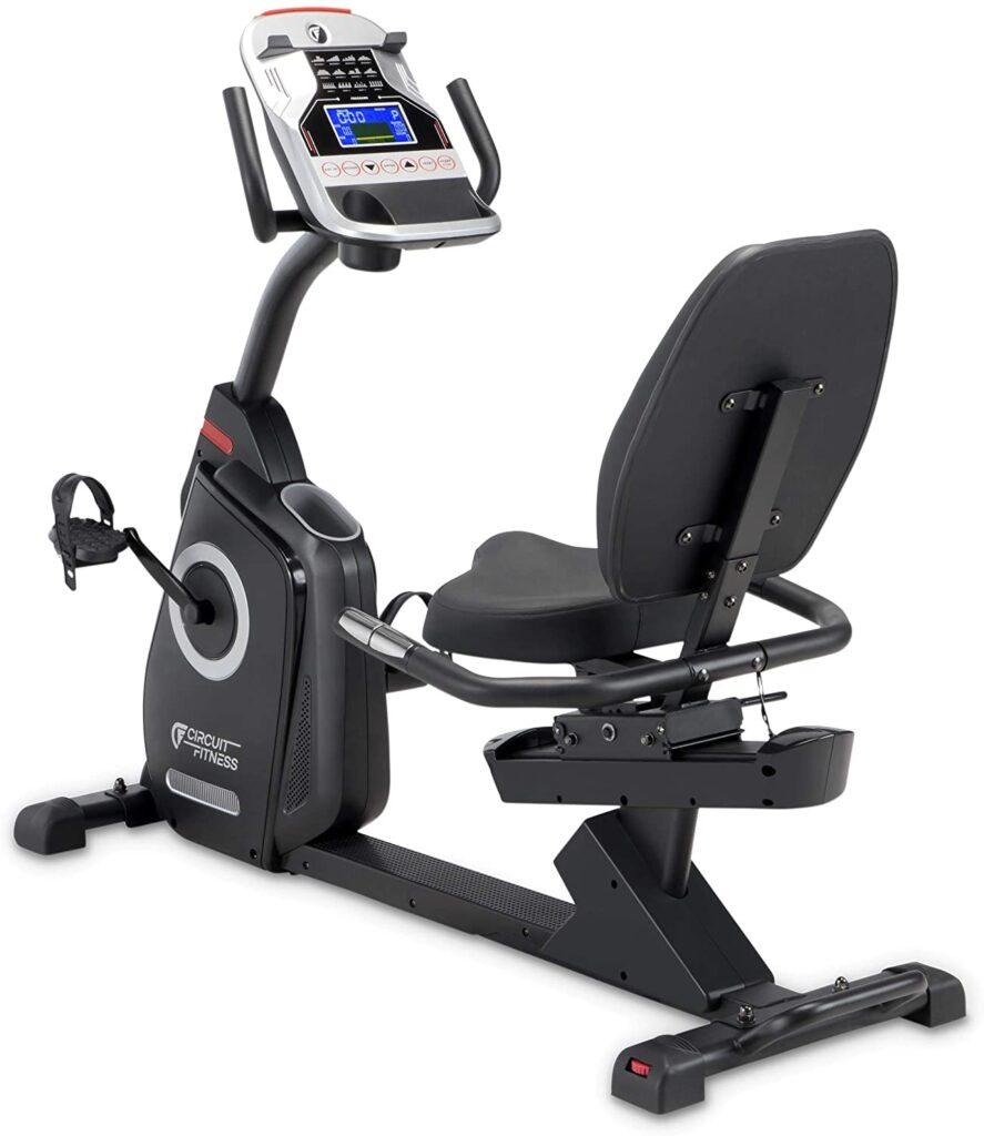 Circuit Fitness AMZ-587R Magnetic Recumbent Bike