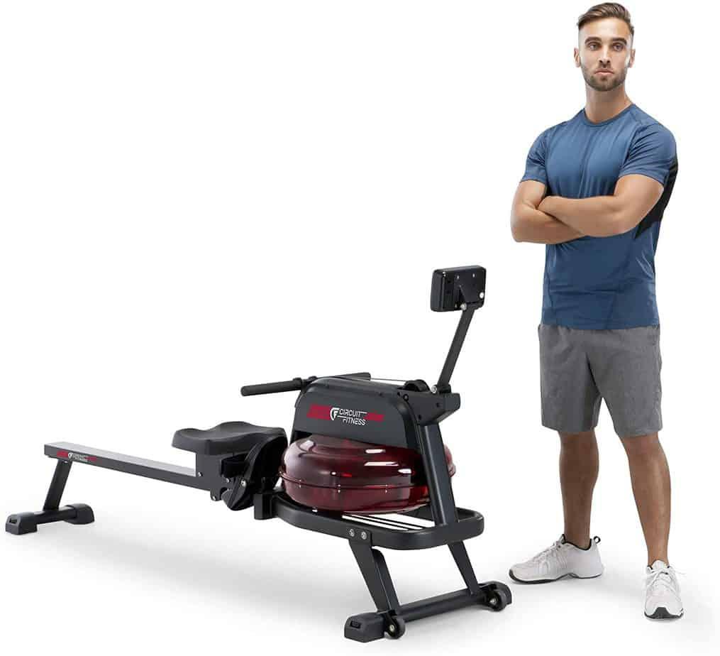 Circuit Fitness AMZ-167RW Water Rowing Machine
