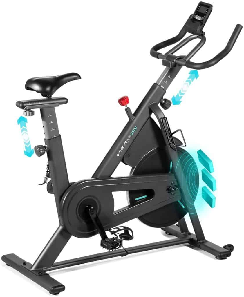 OVICX XCycleQ100 Stationary Indoor Bike