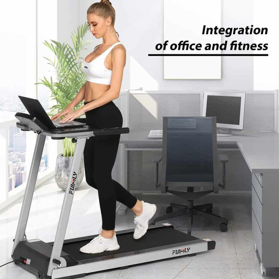 FUNMILY 2.25 HP Electric Folding Treadmill
