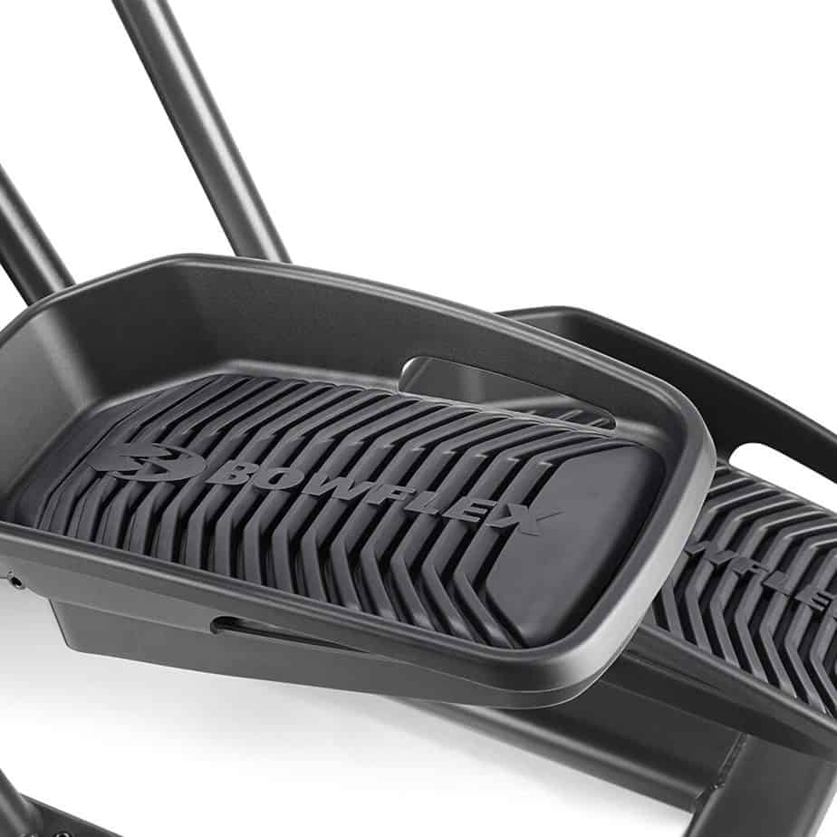 The pedals of the Bowflex Max Trainer M3