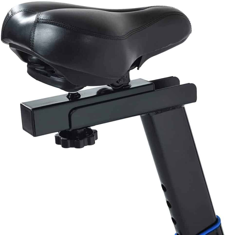 The seat of the Exerpeutic LX 3000 Indoor Cycling Exercise Bike (4210)