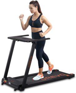 UREVO Foldable Under-Desk 2.5 HP Treadmill