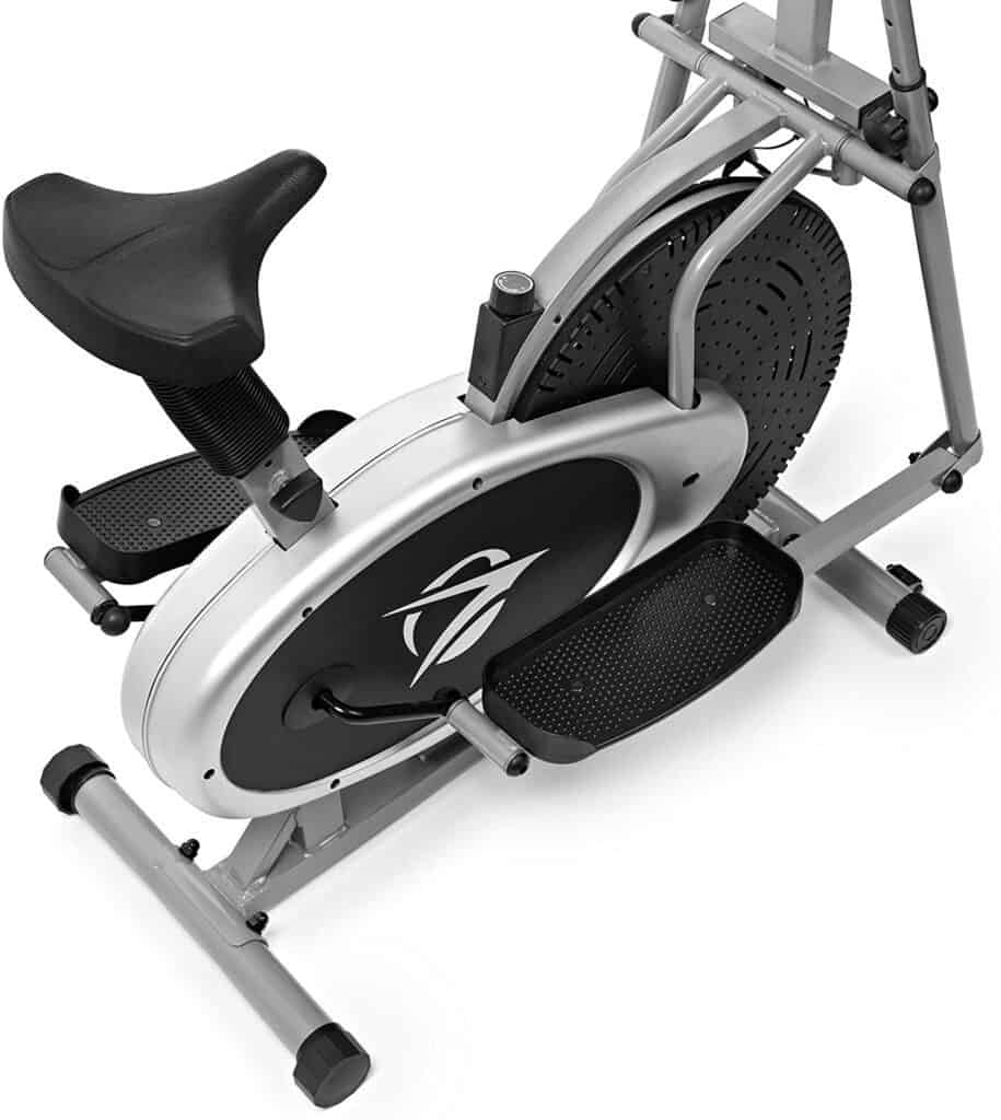 The seat of the Plasma Fit 2350X-Pro Elliptical Cross Trainer