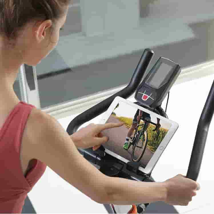 The console of the YOSUDA L-007A Exercise Indoor Cycling Bike