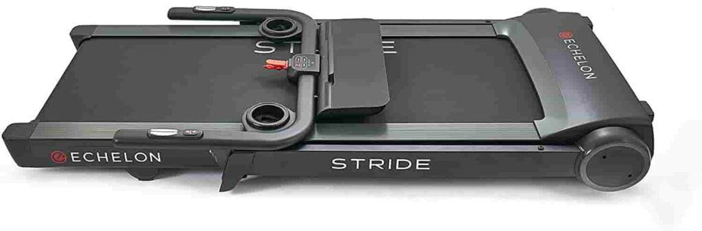 Folded Echelon Stride Treadmill